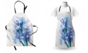Ambesonne Watercolor Flower Apron