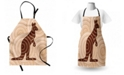 Ambesonne Tropical Animals Apron