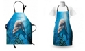 Ambesonne Sea Animals Apron