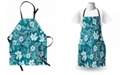 Ambesonne Flowers Apron