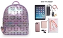 OMG! Accessories Kitty Print Hologram Mini Backpack