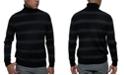 Kenneth Cole Men's Striped Turtleneck Sweater
