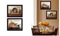 Trendy Decor 4U Trendy Decor 4U By Grace Collection By Susan Boyer, Printed Wall Art, Ready to hang, Black Frame Collection