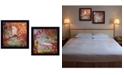 """Trendy Decor 4U Sunny Windows Collection By Robin-Lee Vieira, Printed Wall Art, Ready to hang, Black Frame, 14"""" x 14"""""""