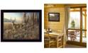 "Trendy Decor 4U Bluff Country Buck By Jim Hansen, Printed Wall Art, Ready to hang, Black Frame, 14"" x 18"""