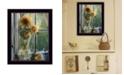 "Trendy Decor 4U Morning Flower by ED Wargo, Ready to hang Framed Print, Black Frame, 14"" x 18"""