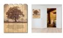 "Trendy Decor 4U Living Life by Bonnie Mohr, Printed Wall Art on a Wood Picket Fence, 16"" x 20"""