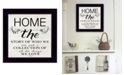 """Trendy Decor 4U Home - the Story of Who We Are by Cindy Jacobs, Ready to hang Framed Print, Black Frame, 14"""" x 14"""""""