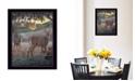 "Trendy Decor 4U Field of Dreams by Kim Norlien, Ready to hang Framed Print, Black Frame, 14"" x 18"""
