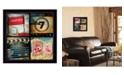 "Trendy Decor 4U Trendy Decor 4U At The Movies By Mollie B., Printed Wall Art, Ready to hang, Black Frame, 14"" x 14"""