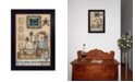 "Trendy Decor 4U Friends by by Mary Ann June, Ready to hang Framed Print, Black Frame, 14"" x 20"""