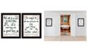 Trendy Decor 4U Trendy Decor 4U Great Love 2-Piece Vignette by Annie LaPoint, Frame Collection