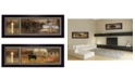 """Trendy Decor 4U Bless Our Home Collection By Robin-Lee Vieira, Printed Wall Art, Ready to hang, Black Frame, 8"""" x 18"""""""