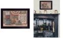 "Trendy Decor 4U Trendy Decor 4U God Bless America By Pam Britton, Printed Wall Art, Ready to hang, Black Frame, 18"" x 14"""