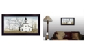 """Trendy Decor 4U I Can Do All Things By Billy Jacobs, Printed Wall Art, Ready to hang, Black Frame, 20"""" x 11"""""""