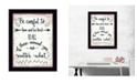 Trendy Decor 4U Trendy Decor 4U Be Careful by Annie LaPoint, Ready to hang Framed Print Collection