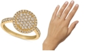 Le Vian Creme Brulee® Nude Diamond Halo Cluster Statement Ring (3/4 ct. t.w.) in 14k Gold