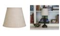 Cloth&Wire Slant Empire Hardback Lampshade with Bulb Clip