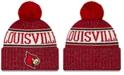 New Era Louisville Cardinals Sport Knit Hat