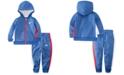 Nike Baby Boys 2-Pc. Therma Fleece Colorblocked Zip Hoodie & Jogger Pants Set