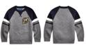 Polo Ralph Lauren Toddler Boys Ski Bear Cotton Sweater, Created For Macy's