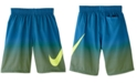 Nike Big Boys 1-Pc. Color Fade Breaker Volley Swim Trunks