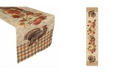"""Laural Home Bountiful Harvest Table Runner 13"""" x 72"""""""