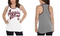 Touch by Alyssa Milano Women's Texas A&M Aggies Tailsweep Colorblock Tank