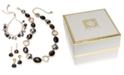 Anne Klein Gold-Tone Multi-Stone Jewelry Separates