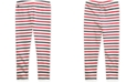 Polo Ralph Lauren Little Girls Striped Stretch Cotton Jersey Legging