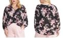 RACHEL Rachel Roy Trendy Plus Size Layla Floral-Print Top
