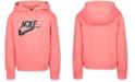 Nike Toddler Girls Starry Night Logo Fleece Hoodie