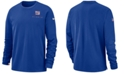 Nike Men's New York Giants Dry Top Crew Sweatshirt