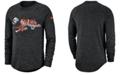 Nike Men's Cincinnati Bengals Historic Marled Raglan T-Shirt