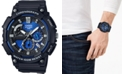 Casio Men's Chronograph Black Resin Strap Watch 53.5mm