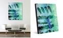 "Creative Gallery Kouara in Green Abstract 24"" x 36"" Acrylic Wall Art Print"