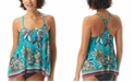 Coco Reef Current Printed Underwire Tankini Top