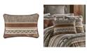 J Queen New York J Queen Timber Linen Boudoir Decorative Throw Pillow
