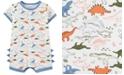 Carter's Baby Boys Cotton Dinosaur Romper