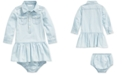 Polo Ralph Lauren Baby Girls Chambray Dress