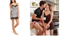 INC International Concepts INC Lace-Trim Printed Chemise Nightgown, Created for Macy's