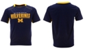 Outerstuff Little Boys Michigan Wolverines Static Performance T-Shirt