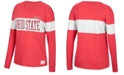 Top of the World Women's Ohio State Buckeyes Colorblocked Long Sleeve T-Shirt