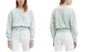 Levi's Paloma Smocked Cropped Sweatshirt
