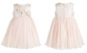 Bonnie Baby Baby Girls Flower & Tulle Party Dress