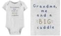 Carter's Baby Boys Big Cuddle Cotton Bodysuit