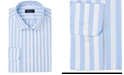 Club Room Men's Classic/Regular-Fit Performance Stretch Bold Stripe Dress Shirt, Created For Macy's