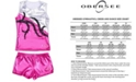 Obersee Little and Big Girls Tank and Shorts Set