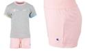 Champion Toddler Girls 2-Pc. Ringer T-Shirt & Shorts Set