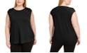 Calvin Klein Plus Size Strappy-Shoulder Sleeveless Top